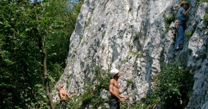 Wspinanie na Psiklatce - foto arch. M. Paradowski