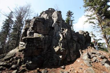 Skalny Mur - północna ściana-